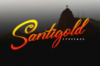 Santigold Typeface