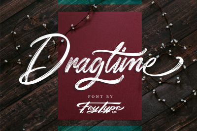 Dragtime - Handwritting Script Font