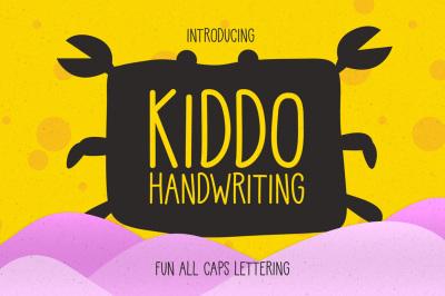 Kiddo Handwriting | Fun lettering