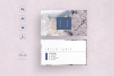 Sakura Card Template / Business Card / Calling Card / Name Card