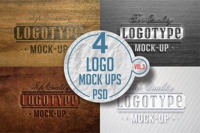 Logo Mock-up Pack Vol.4