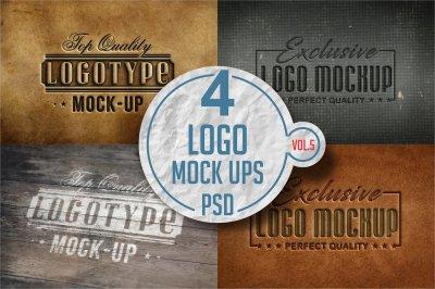 Logo Mock-up Pack Vol.5