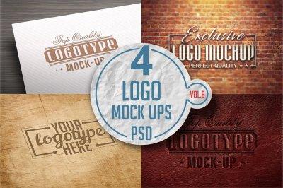 Logo Mock-up Pack Vol.6