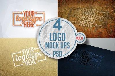 Logo Mock-up Pack Vol.11