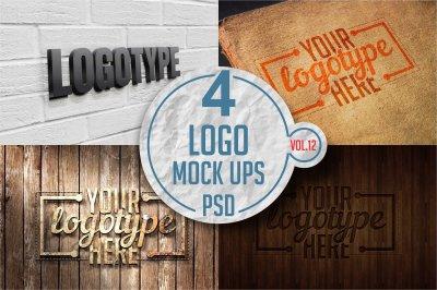 Logo Mock-up Pack Vol.12