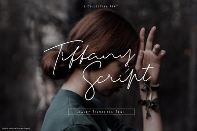 Tiffany Script one