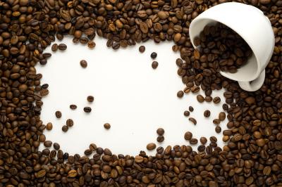 Coffee frame.