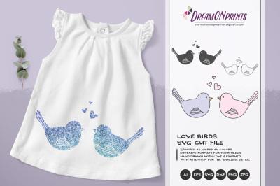 Love Birds SVG Cut Files