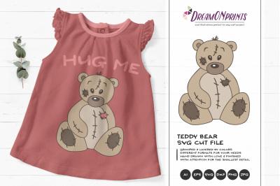 Teddy Bear SVG Vector