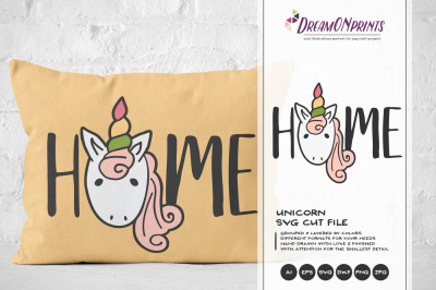 Unicorn SVG Cut Files