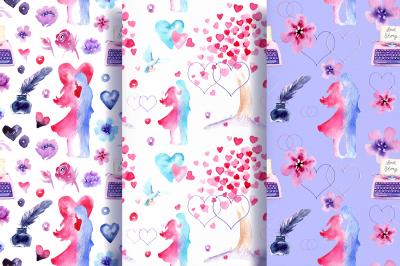 Love Story Watercolor Set
