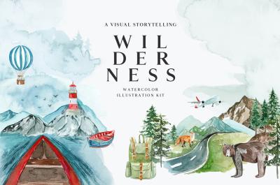 WILDERNESS. A Visual Storytelling