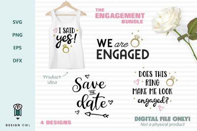 The engagement bundle - SVG files