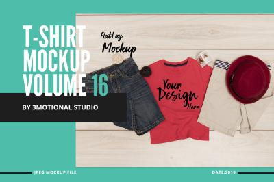 T-Shirt Mockup Volume 16