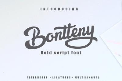 Bontteny Font