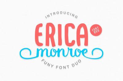 Erica Monroe Font Duo