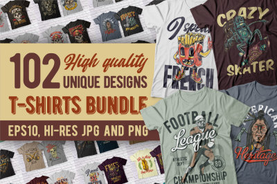 Fresh high quality t-shirts BUNDLE