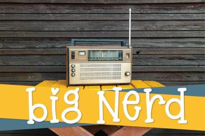 Big Nerd - A Fun Hand Lettered Serif Font
