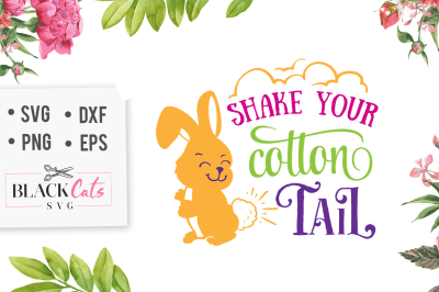 Shake your cottontail SVG
