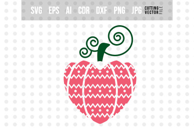 Valentine's Heart - svg, eps, ai, cdr, dxf, png, jpg