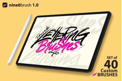 Nine6brush v1 procreate brushes