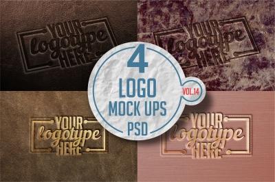 Logo Mock-up Pack Vol.14