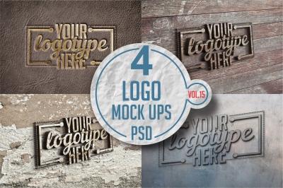 Logo Mock-up Pack Vol.15