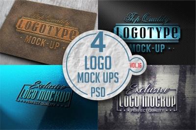 Logo Mock-up Pack 16