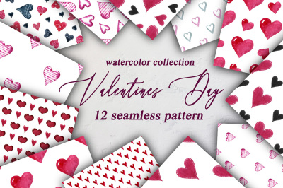 Valentines Day Seamless Pattern.