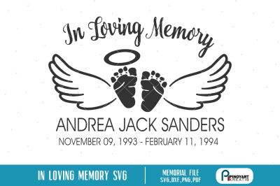 In Memory Svg On All Category Thehungryjpeg Com