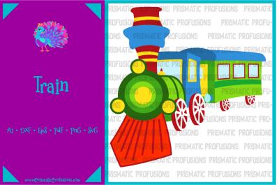 Train SVG, Train Clipart