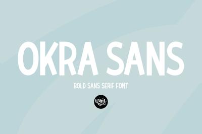 OKRA SANS Bold Sans Serif Font