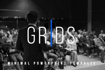 Grids - Minimal Powerpoint Template