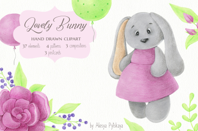 Lovely Bunny Design Set