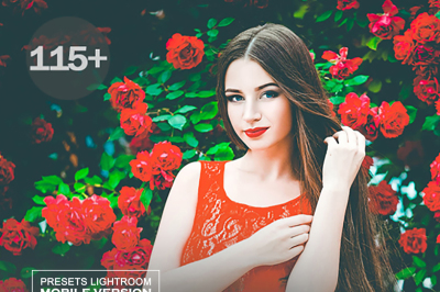 Spring Lightroom CC Mobile Presets (Adroid and Iphone/Ipad) DNG File