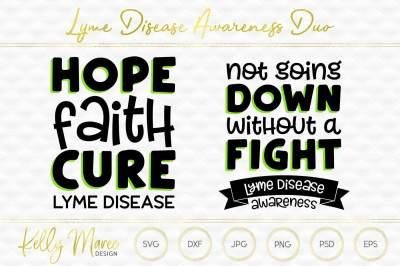 Lyme Disease Awareness SVG Duo