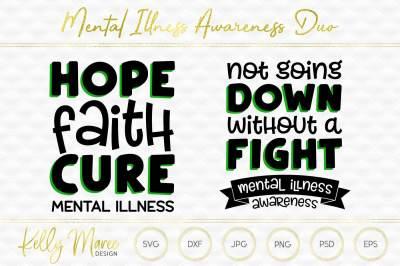 Mental Illness SVG Duo