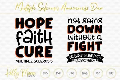 Mental Illness Awareness SVG Duo