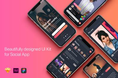 Zingo - Social App UI Kit