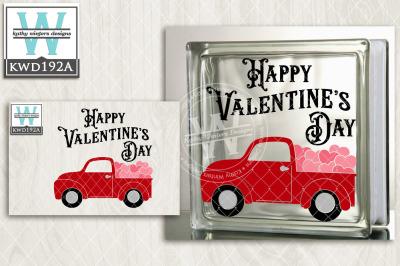 Valentine Cutting File KWD192a