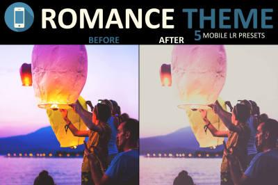 Neo Romance mobile lightroom presets