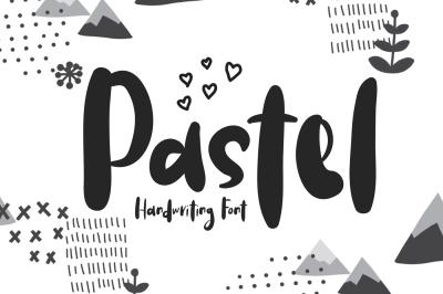 Pastel | Handwriting Font