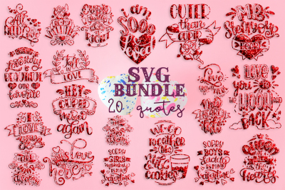 Valentine SVG Bundle St. Valentine's bundle