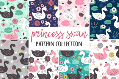 princess swan pattern collection