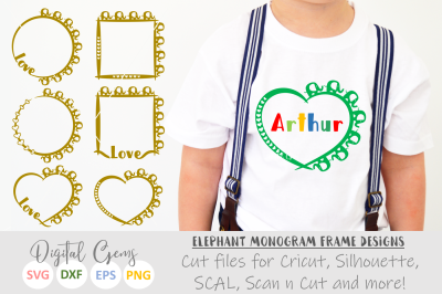 Monogram On All Category Thehungryjpeg Com