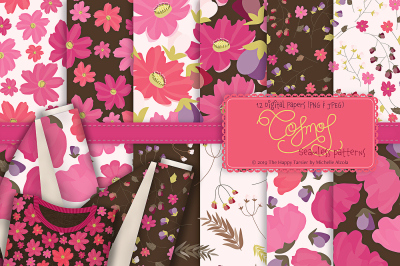 Cosmos 01 - Seamless Patterns & Digital Papers