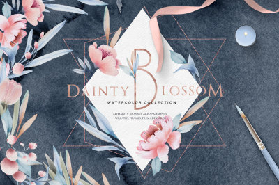 Watercolor Col. Dainty Blossom