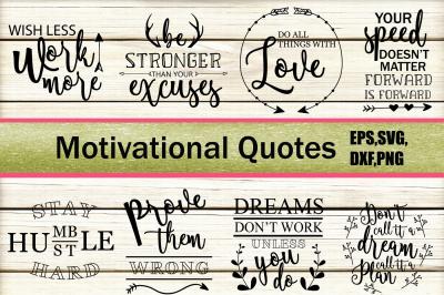 Motivational Quotes SVG