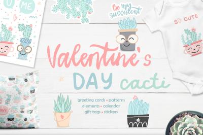 Valentine's Day Cactus