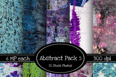 10 Pack of Abstract Texture Backgrounds Pack 5